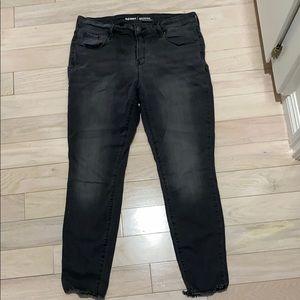 Old Navy Rockstar midrise skinny jeans sz 14